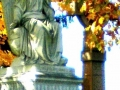 LARGER CROP LIGHTENED AND CONTRASTED TO SHOW SPIRIT ON THE SIDE OF STATUE