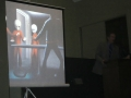 TRAVIS WALTONS SLIDE OF THE ALIENS ON THE SHIP AT EXPERIENCERS SPEAK 1
