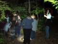TENNEY GATE HOUSE PARANORMAL EVENT SHOWS THE FEMALES SPIRIT HEAD AND NOT HEAD OF ANYONE PRESENT DURING A SLOW SHUDDER PHOTO TAKEN